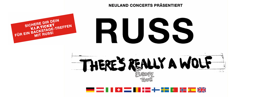 RUSS: There`s really a wolf in Europe Tour 2018