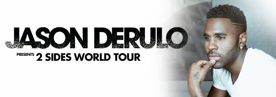 JASON DERULO - Der King of Dance Pop auf Arena Tour 2018!