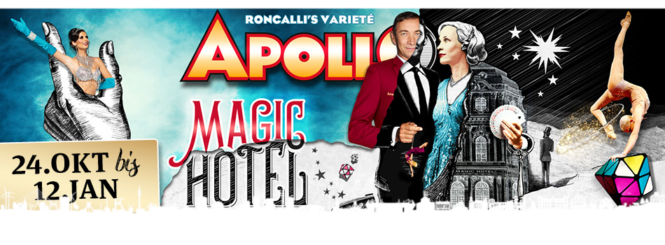 APOLLO VARIETÈ DÜSSELDORF | Tickets ab 50,50 €