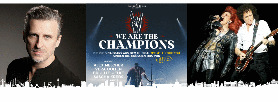 WE ARE THE CHAMPIONS | Oberhausen | 30.6.2021 | Tickets ab 67,90 €