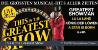 Verschoben: Die größten Musical Hits aller Zeiten - This is the Greatest Show