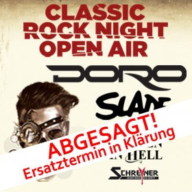 CLASSIC ROCK NIGHT OPEN AIR 15.08.2020 BIBERACH, Classic Rock Night Open Air
