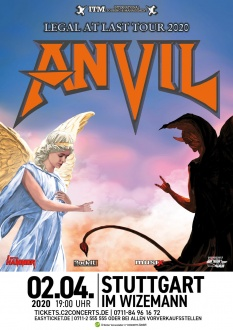 ANVIL, 02.04.2020, Stuttgart, LEGAL AT LAST Tour 2020