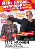 MARY ROOS & WOLFGANG TREPPER, 12.12.2020, Mannheim