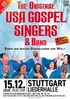 THE ORIGINAL USA GOSPEL SINGERS & BAND, 15.12.2020, Stuttgart