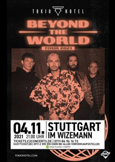 TOKIO HOTEL, 04.11.2021, Stuttgart, Beyond The World Tour 2021