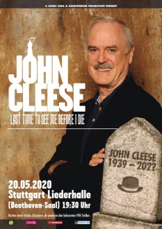 JOHN CLEESE, 20.05.2020, Stuttgart, Last time to see me before I die