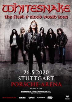 WHITESNAKE, 26.05.2020, Stuttgart, The Flesh & Blood World Tour