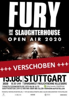 FURY IN THE SLAUGHTERHOUSE, 06.08.2021, Stuttgart
