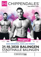 THE CHIPPENDALES, 18.10.2020 (Mannheim) & 21.10.2020 (Balingen)