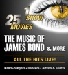 The Music Of James Bond & More • 04.11.2021, 19:00 • Lingen